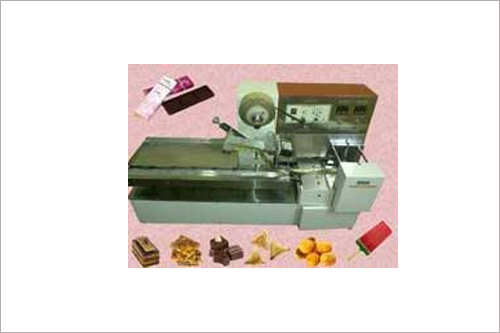 Table Top Candy Wrapping Machine Flow Pack Wrapping